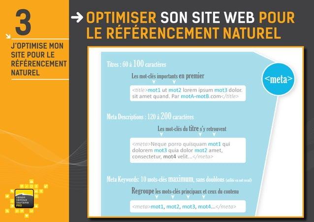 3  j'optimise mon site pour le référencement naturel  va i s on ventou x touris m e P RO  OPTIMISER son site web POUR le r...