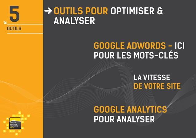 5  OUTILS  OUTILS pour OPTIMISER & analyser GOOGLE adwords - ici POUR LES MOTS-clés la vitesse de votre site  va i s on ve...
