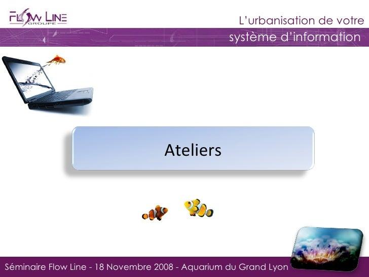 Séminaire Flow Line - 18 Novembre 2008 - Aquarium du Grand Lyon Ateliers