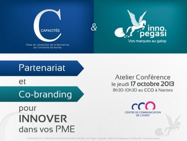 Partenariat et cobranding pour innover dans vos PME