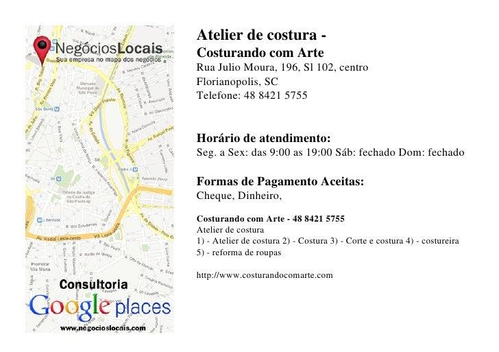 atelier de costura em florian polis 48 8421 5755. Black Bedroom Furniture Sets. Home Design Ideas