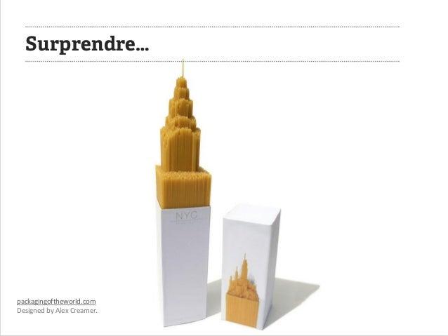 packagingoftheworld.com  Designed by Alex Creamer.  Surprendre…
