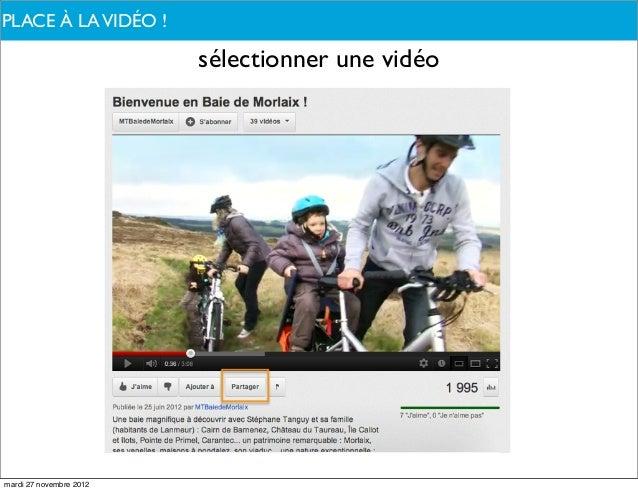PLACE À PARLONS-NOUS ?DE QUOILA VIDÉO !                         sélectionner une vidéomardi 27 novembre 2012