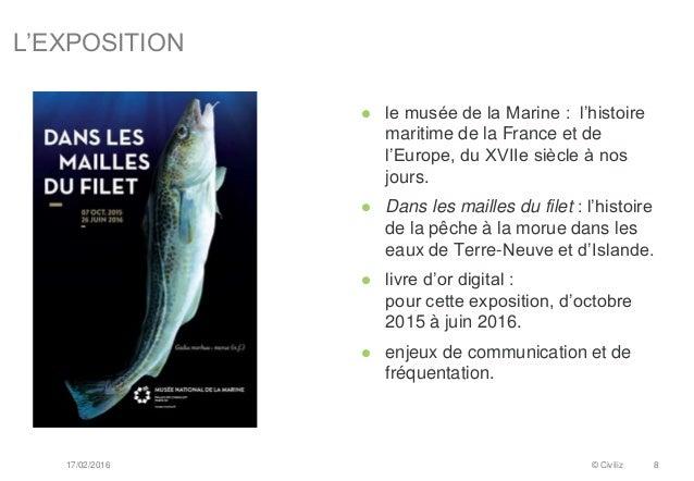 L'EXPOSITION 17/02/2016 © Civiliz 8  le musée de la Marine : l'histoire maritime de la France et de l'Europe, du XVIIe si...