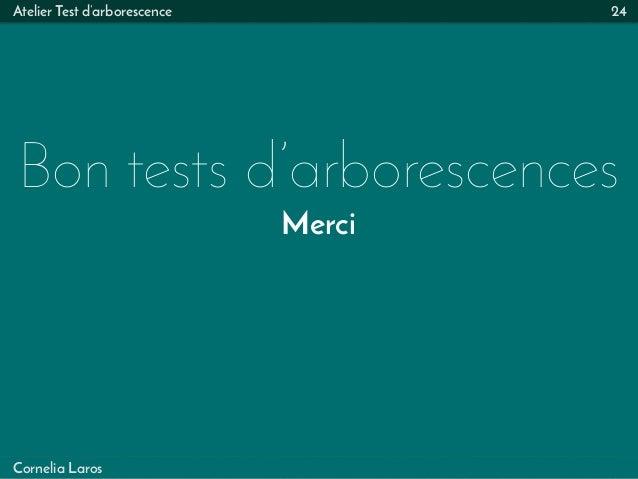 Atelier Test d'arborescence Bon tests d'arborescences Merci 24 Cornelia Laros