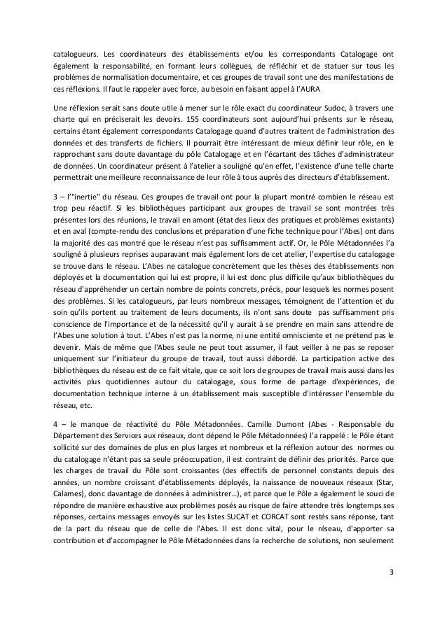 """Jabes 2010 - Atelier 1 """"Catalogage et groupe de travail"""" Slide 3"""