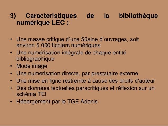 """Jabes 2011 - Patrimoine : numériser et mutualiser - """"Quelques réflexions sur la numérisation du patrimoine contemporain et la mutualisation"""" Slide 3"""
