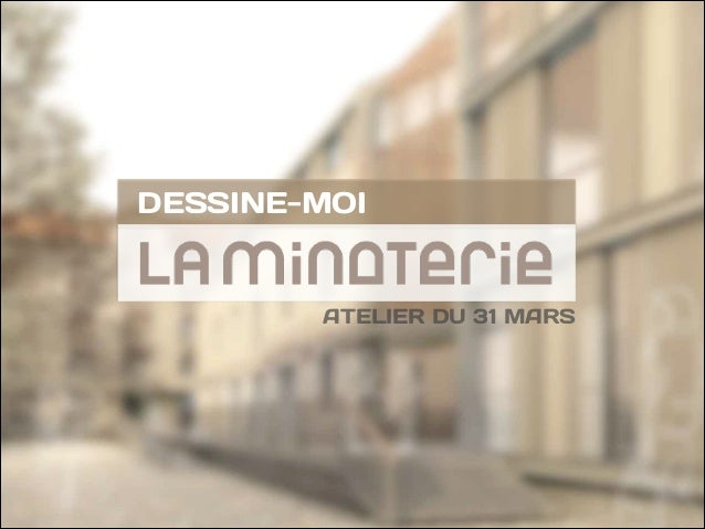 ATELIER DU 31 MARS DESSINE-MOI