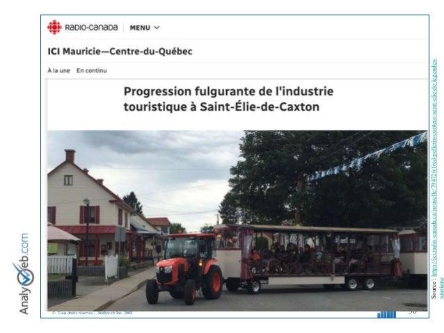 © Tous droits réservés – Analyweb Inc. 2008 30 Source:https://ici.radio-canada.ca/nouvelle/794726/fred-pellerin-conteur-sa...
