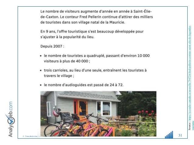 © Tous droits réservés – Analyweb Inc. 2008 31 Source:https://ici.radio-canada.ca/nouvelle/794726/fred-pellerin-conteur-sa...