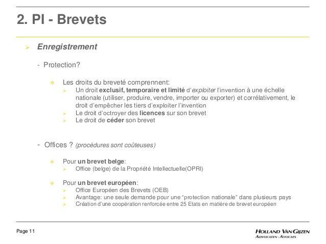Atelier 5 protection intellectuelle entre employeur et employ - Office de la propriete intellectuelle ...