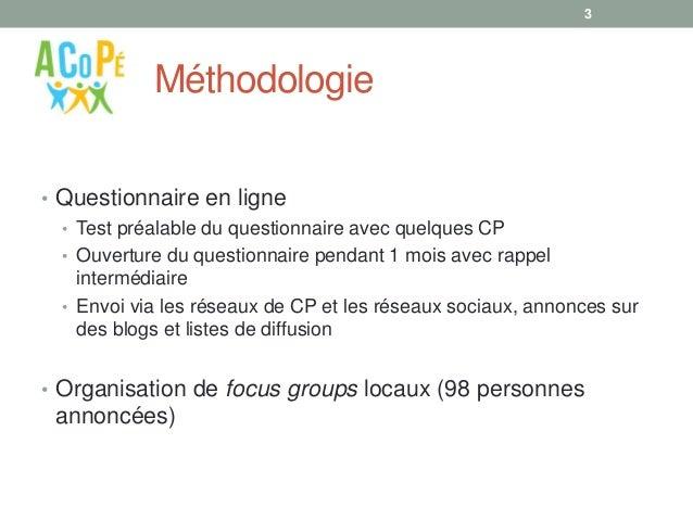 Portrait de famille des conseillers pédagogiques dans l'enseignement supérieur francophone Slide 3