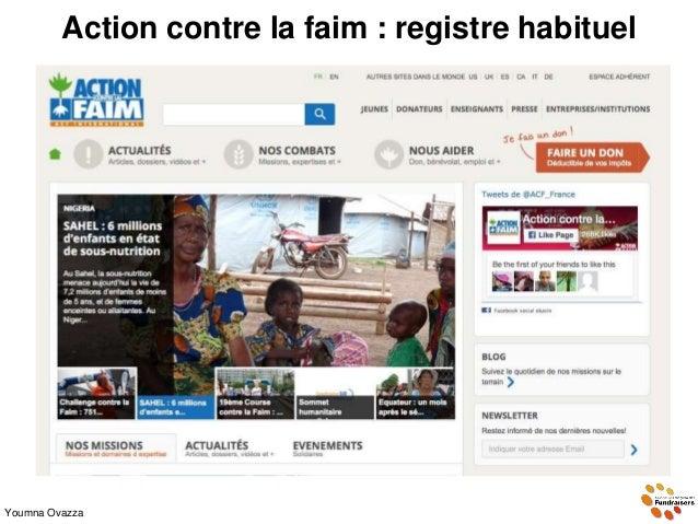 Action contre la faim : registre habituel Youmna Ovazza
