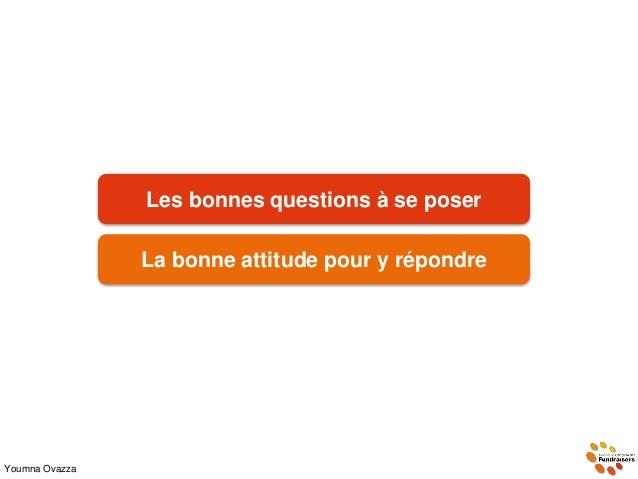 Youmna Ovazza Les bonnes questions à se poser La bonne attitude pour y répondre