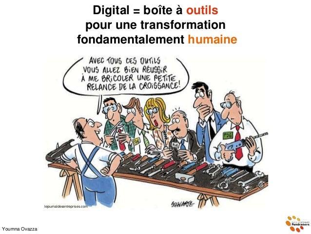 Digital = boîte à outils pour une transformation fondamentalement humaine lejournaldesentreprises.com Youmna Ovazza