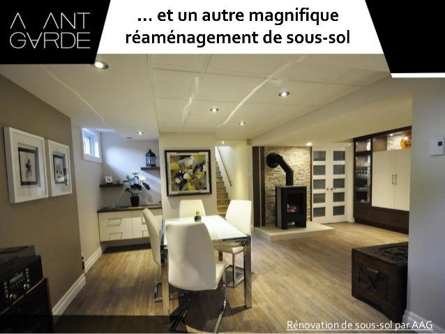 r novation de sous sol qu bec par l 39 atelier avant garde. Black Bedroom Furniture Sets. Home Design Ideas