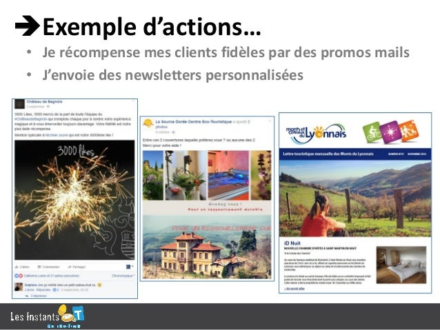 Indicateurs… • Taux d'engagement sur un post, • Taux de commentaires positifs, • Taux de croissance page ou news, nombre ...