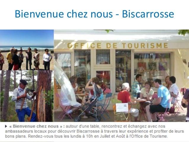 Atelier et les habitants tourisme num rique deauville - Office du tourisme biscarrosse ...