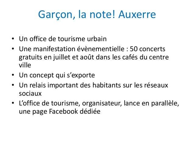 Atelier et les habitants tourisme num rique deauville - Office de tourisme auxerre ...