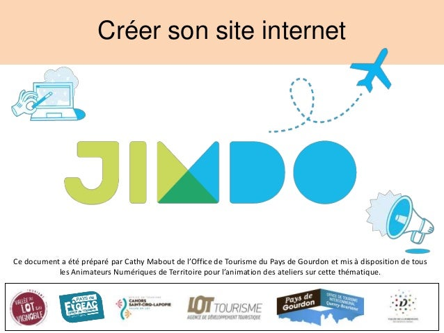 atelier cr u00e9er son site web avec jimdo