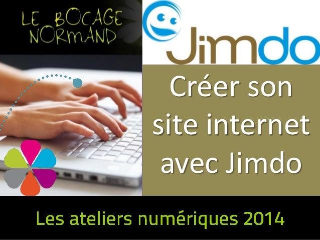 Créer son site internet avec Jimdo