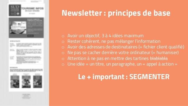 Newsletter  principes