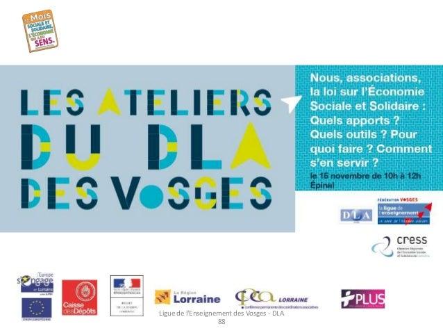 Ligue de l'Enseignement des Vosges - DLA  88