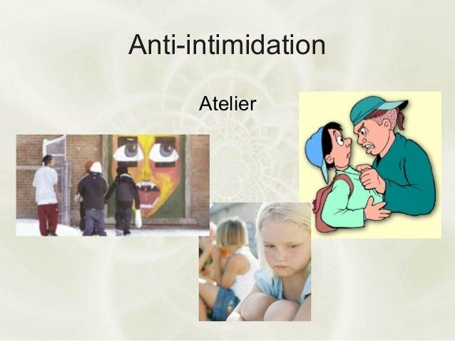 Anti-intimidationAtelier