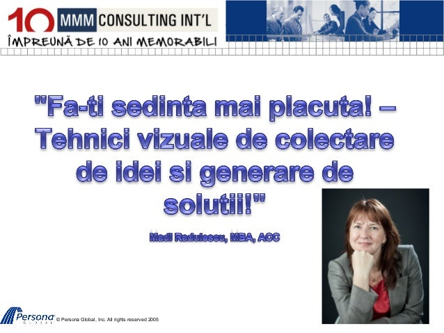 © Persona Global, Inc. All rights reserved 2005