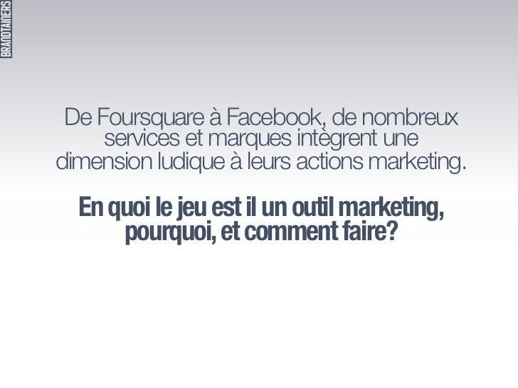 "Présentation Fabien Baunay - Atelier FrenchWeb ""Gamification en action""  Slide 2"