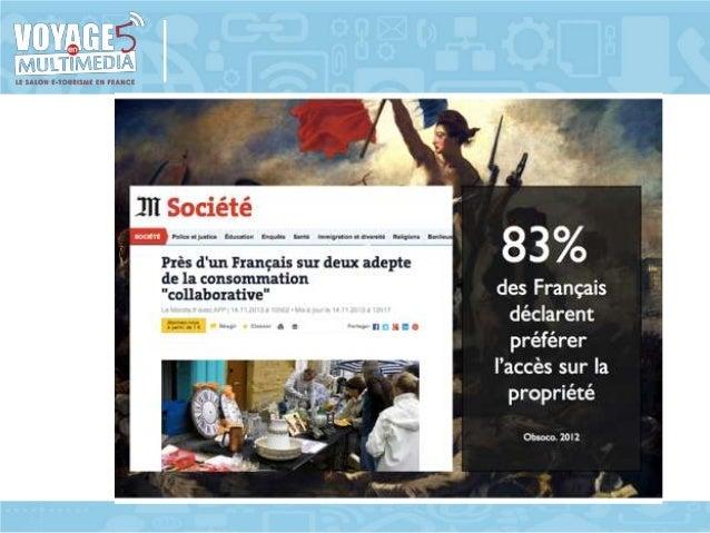 Atelier IE15 Le tourisme de partage : menace ou opportunité d'une nouvelle filière ? Slide 3