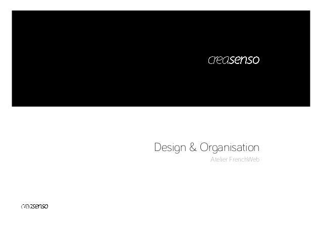Design & Organisation Atelier FrenchWeb