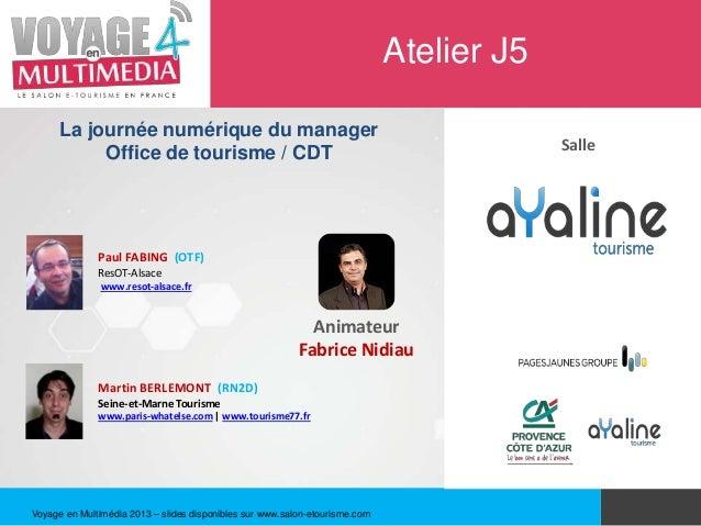 Atelier J5      La journée numérique du manager                                                                           ...