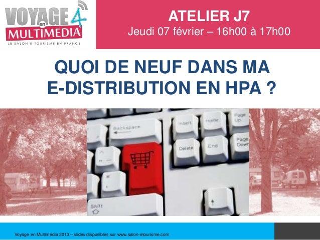 J7 e distribution h tellerie de plein air hpa for Salon hotellerie de plein air