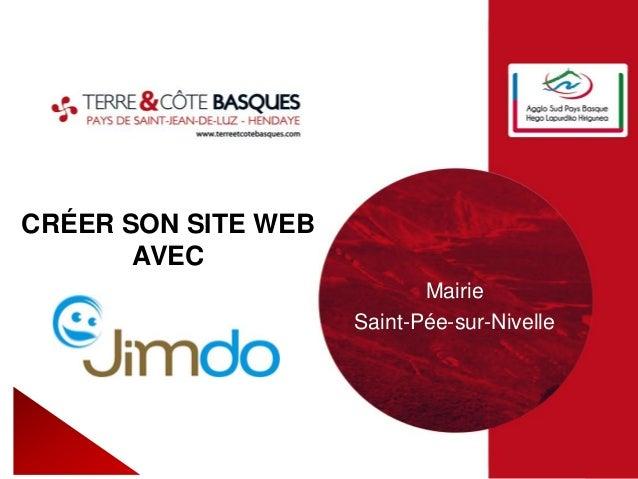 CRÉER SON SITE WEB AVEC Mairie Saint-Pée-sur-Nivelle
