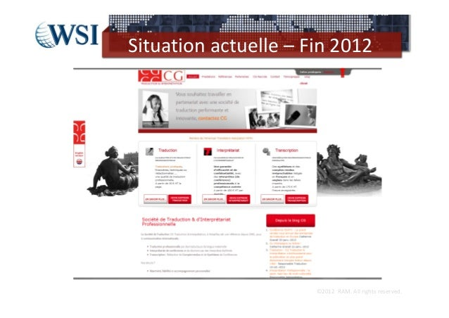 Situationactuelle– Fin2012                      ©2012RAM.Allrightsreserved.