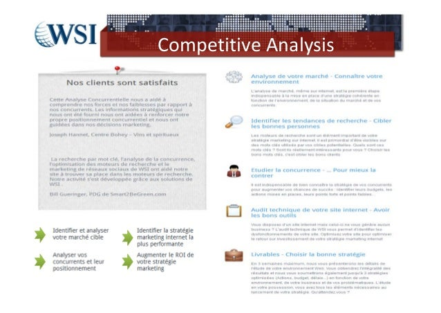 Competitive Analysis                28