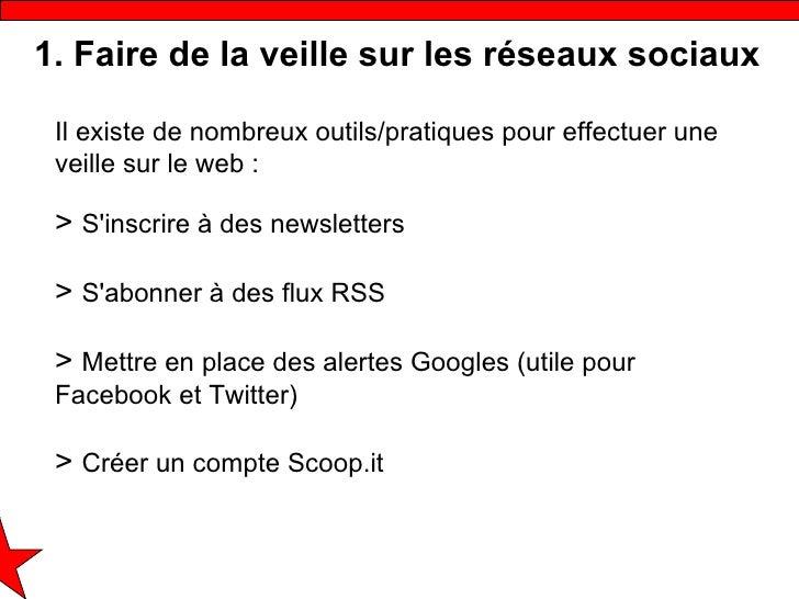 Quels outils numériques pour les réseaux sociaux Slide 3