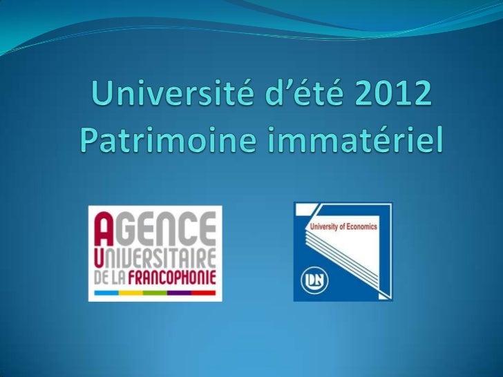 """_Nom du groupe :Gadiens du Patrimoine_Logo :+chaque branche del'étoile symbolyse unbouclier qui réprésenteles """"gardiens"""".+..."""