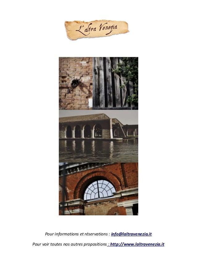 Atelier photo dans l'Arsenal de Venise Slide 3