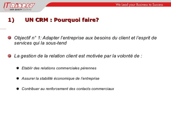 Atelier relation client 2011 Slide 3