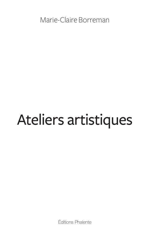 Ateliers artistiques : art-thérapie Slide 3