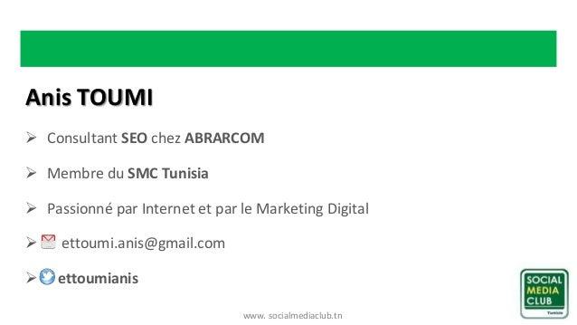 Atelier « SEO et Marketing digital » Slide 2