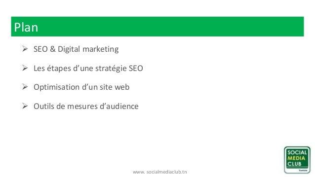 Atelier « SEO et Marketing digital » Slide 3