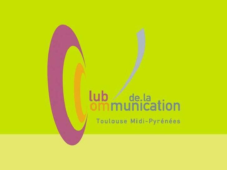 Atelier du web  Blogueurs, twittos, likers …Comment prendre en compte les nouveaux influenceurs ?         Jeudi 03 mai 2012