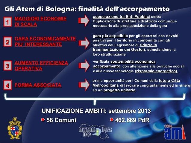 MAGGIORI ECONOMIEMAGGIORI ECONOMIE DI SCALADI SCALA UNIFICAZIONE AMBITI: settembre 2013UNIFICAZIONE AMBITI: settembre 2013...