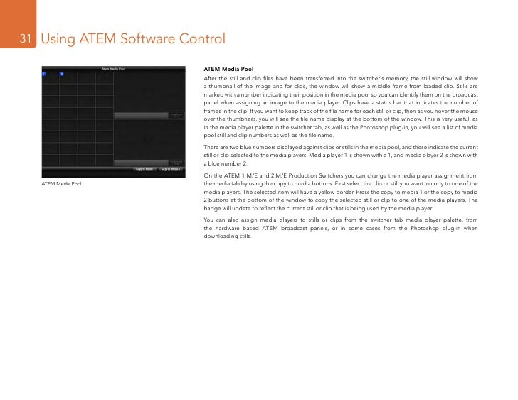 Atem Software Control Download Peatix