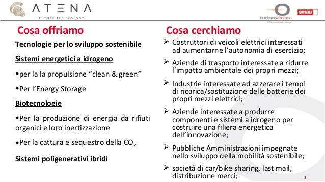 Smau Napoli 2016 Corporate Meeting - Atena Scarl Slide 3