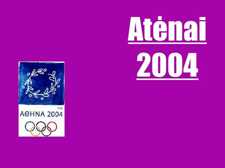 Atėnai  2004