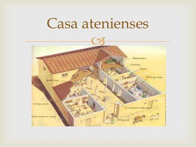 Atenas for Casas griegas antiguas
